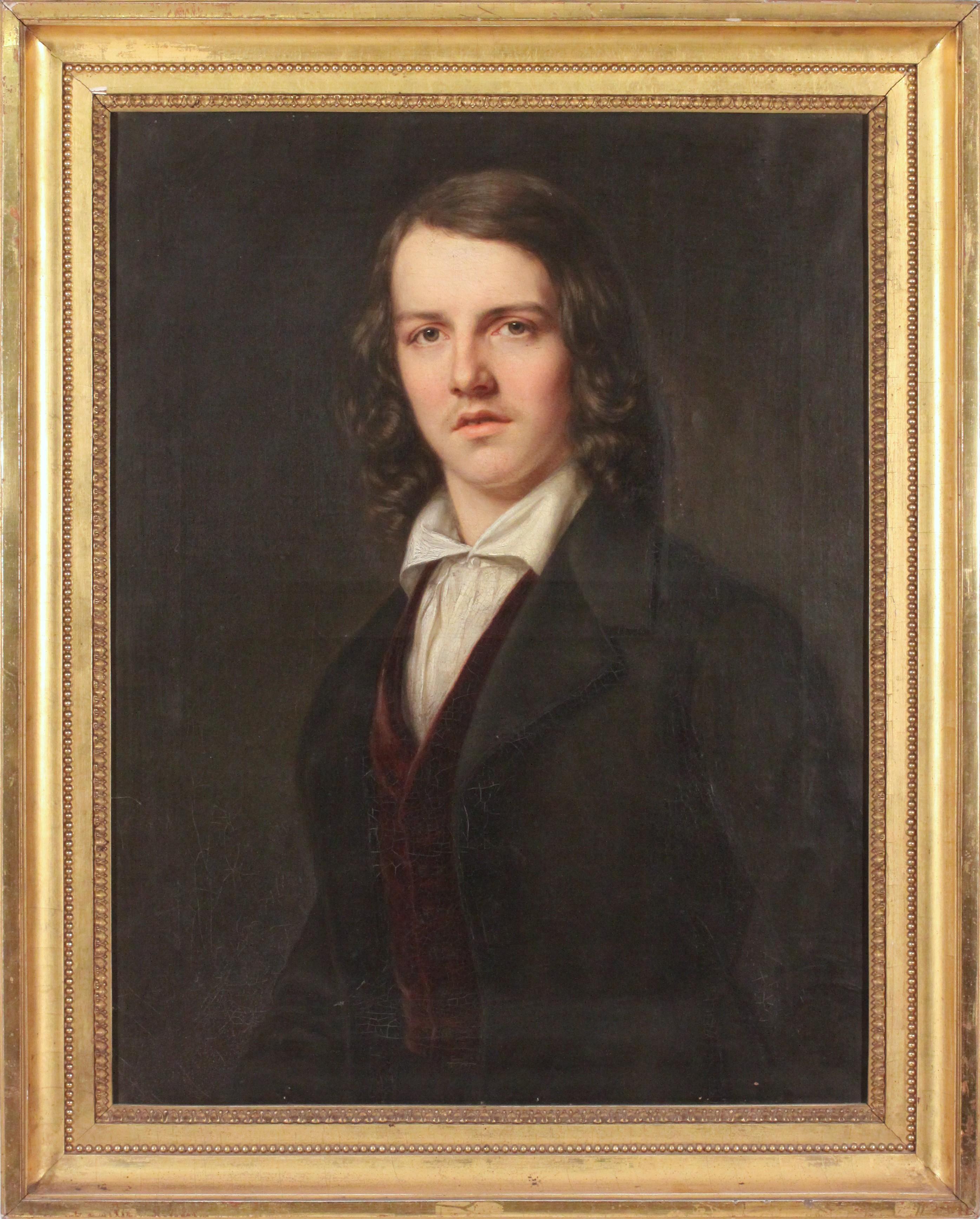 Konrad Maurer mit 19 Jahren - 1842
