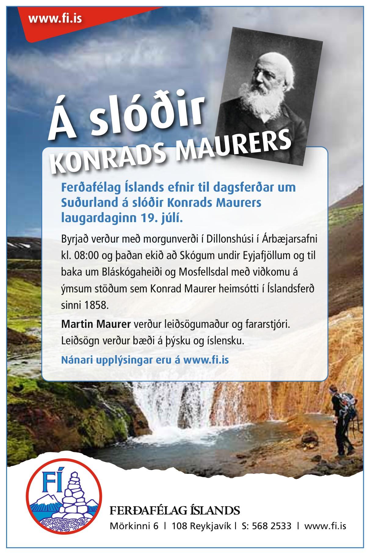 Busrundfahrt auf den Spuren Konrad Maurers
