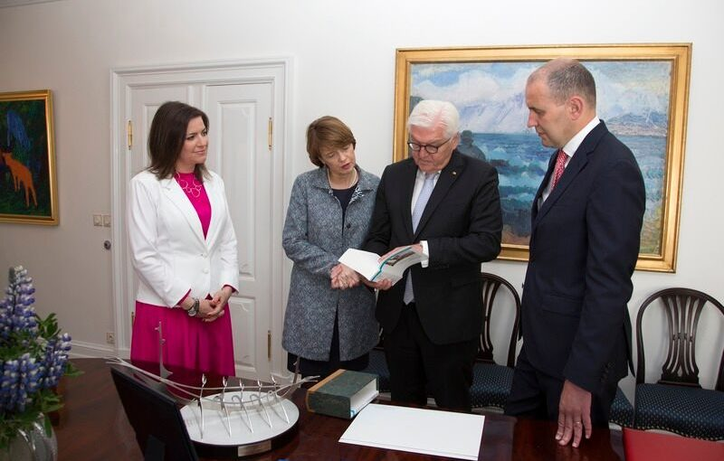 Maurers Islandreise an Bundespräsident Steinmeier übergeben